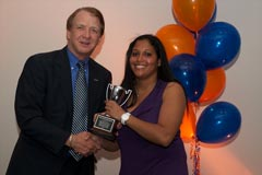 Dean John Wright with Seeta Rebbapragada (Public Relations)