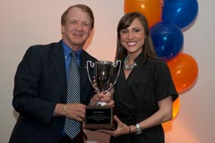 Dean John Wright with Sheli Muniz (Telecommunication)