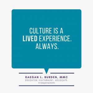 raegan burden on culture