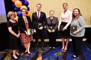 Graduate Studies and Research award winners.