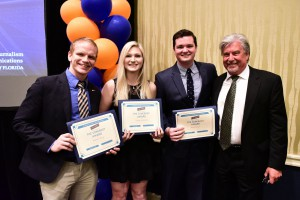 The Agency Somebody award winners with Andy Hopson.