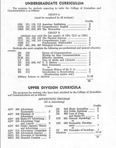 1968 UF Course Catalog
