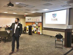 Matt Sheehan at the frank Academy