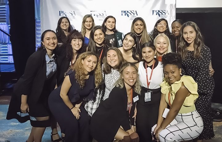 PRSSA Group Photo